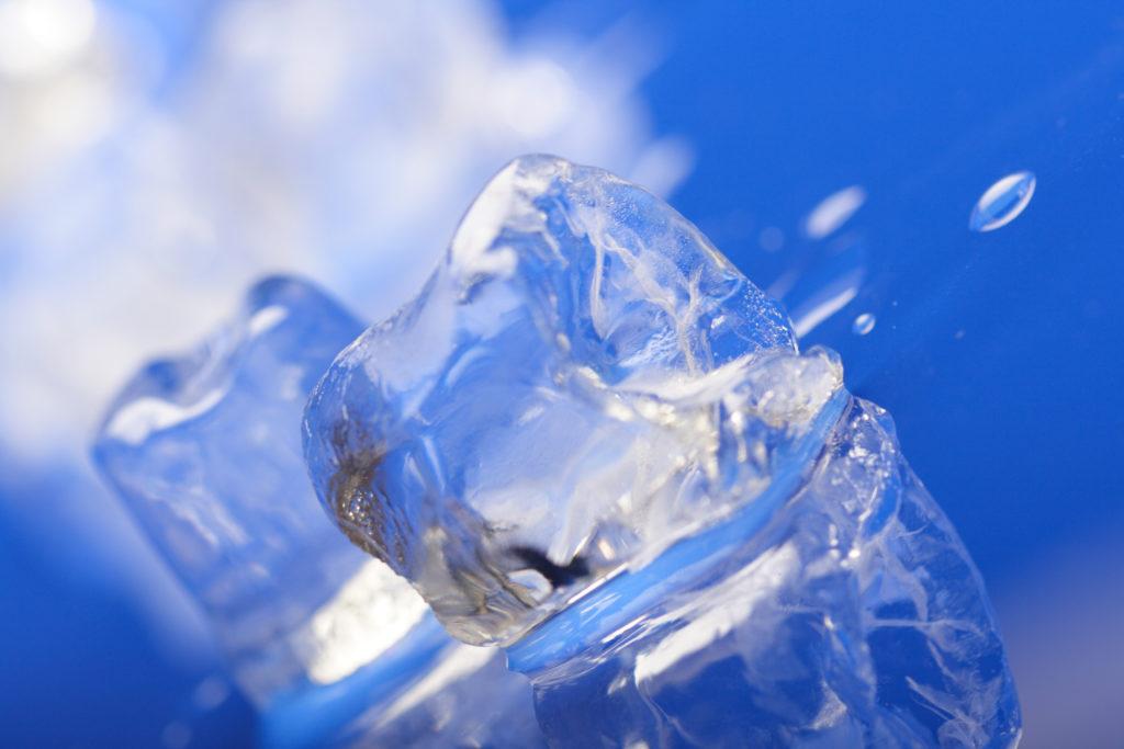 kostki lodu z kostkarki gastronomicznej